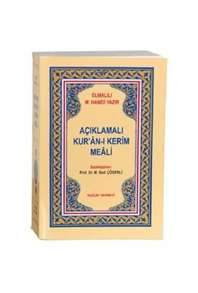 Cep Boy Açıklamalı Kur'an-ı Kerim Meali - Elmalılı Muhammed Hamdi Yazır