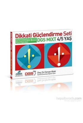 Dikkati Güçlendirme Seti Mixt 4-5 Yaş - Osman Abalı