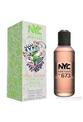 Nyc East Village Rock Tattoo Edition No 673 For Her Edt 100Ml Kadın Parfüm