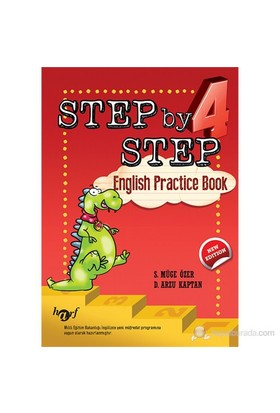 İlkokul 4. Sınıf Step by Step English Practice Book