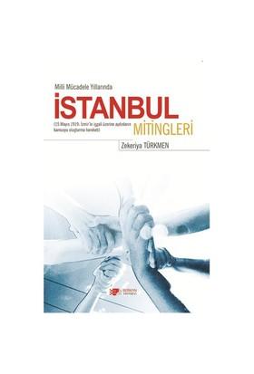 Milli Mücadele Yıllarında İstanbul Mitingleri-Zekeriya Türkmen