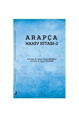 Arapça Nahiv Kitabı 2-Hasan Selim Kıroğlu