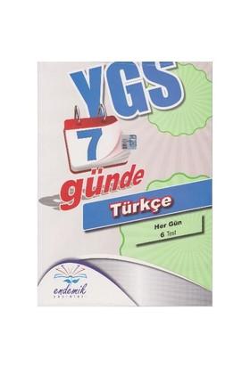 Endemik Ygs 7 Günde Türkçe