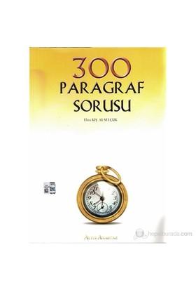 3000 Paragraf Sorusu - Ali Selçuk