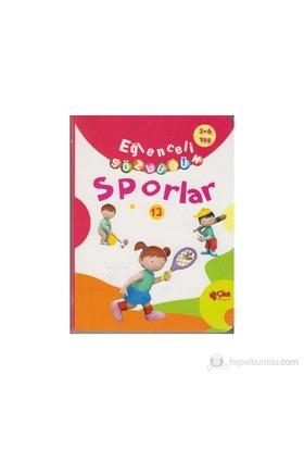 Eğlenceli Sözlüğüm - Sporlar (3-6 Yaş)-Kolektif