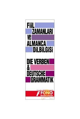 Fono Almanca Fiil Zamanları ve Dilbilgisi Tablosu