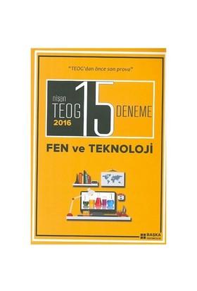 Başka Yayınları 8.Sınıf Nisan Teog Fen Ve Teknoloji 15 Deneme