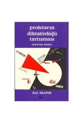 Proletarya Diktatörlüğü Tartışması