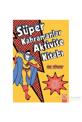Süper Kahramalar Aktivite Kitabı-Alp Gökalp