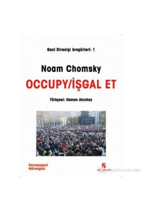 Occupy-İşgal Et-Noam Chomsky
