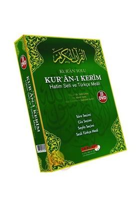 Kur'an Yolu - Kur'an-ı Kerim Hatim Seti ve Türkçe Meali