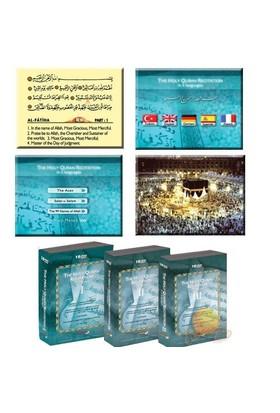 THE HOLY QURAN RECITATION - 5 DİLDE KUR'AN-I KERİM HATİM SETİ 30 DVD
