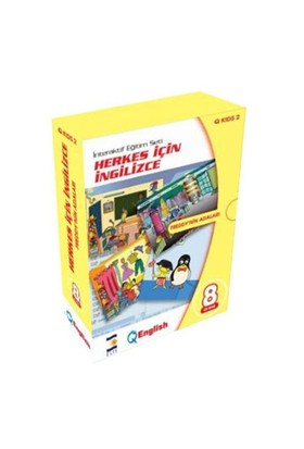 Elit Herkes İçin İngilizce Öğrenim Seti - Q Kids2 (Freddy'nin Adaları)