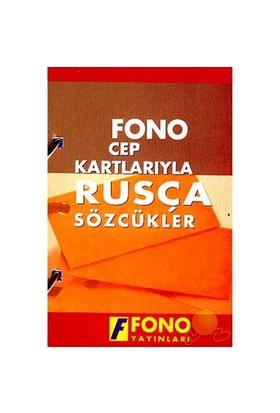 Fono Cep Kartlarıyla Rusça Sözcükler