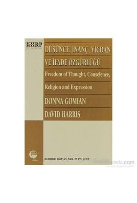 Düşünce, İnanç, Vicdan Ve İfade Özgürlüğü-Donna Gomian