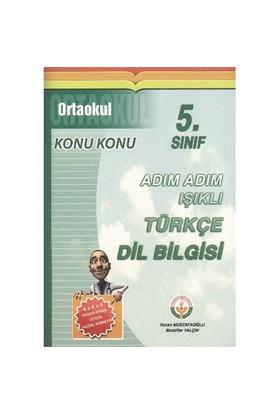 Işıklı Adım Adım Türkçe Dil Bilgisi 5