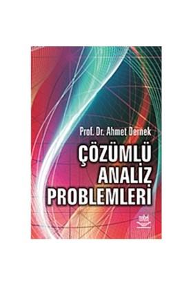 Çözümlü Analiz Problemleri - Ahmet Dernek