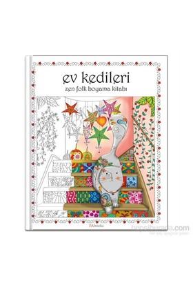 Ev Kedileri (Zen Folk Boyama Kitabı)-Kolektif