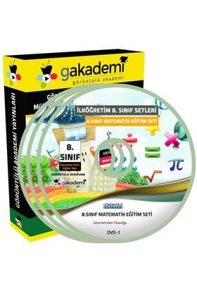 Görüntülü Akademi 8. Sınıf Matematik Görüntülü Eğitim Seti (8 Dvd)