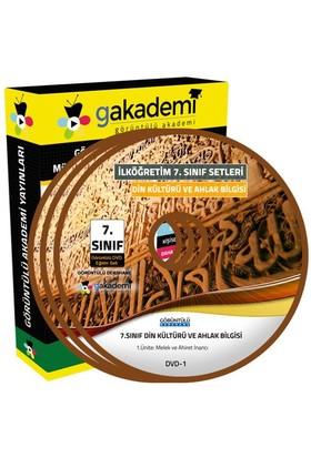 Görüntülü Akademi 7. Sınıf Din Kültürü Ve Ahlak Bilgisi Görüntülü Eğitim Seti (6 Dvd)
