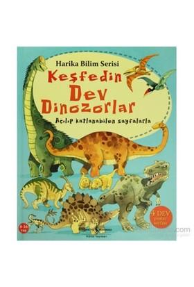 Keşfedin - Dev Dinozorlar - Açılıp Katlanabilen Sayfalar - Usborne Publishing