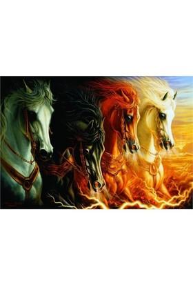 Anatolian Puzzle Mahşerin Dört Atlısı/ The Four Horses Of Apocalypse (2000 Parça)