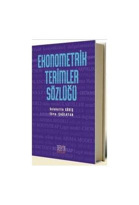 Ekonometrik Terimler Sözlüğü-Selahattin Güriş