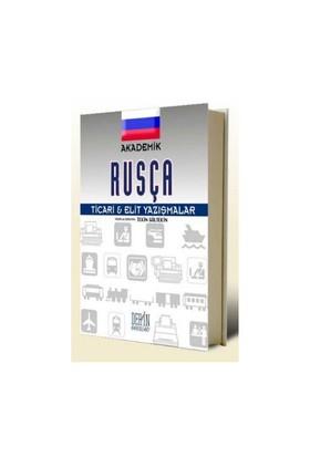 Akademik Rusça Ticari & Elit Yazışmalar-Tekin Gültekin