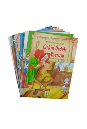 Dünya Masalları Seti (Küçük Boy - 10 Kitap Takım)(1. ve 2. Sınıflar İçin)