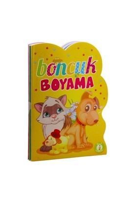 Boncuk Boyama Seti (Şekilli - 4 Kitap Takım)-Kolektif