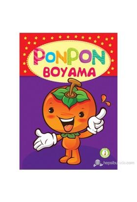 Ponpon Boyama Seti (4 Kitap Takım)