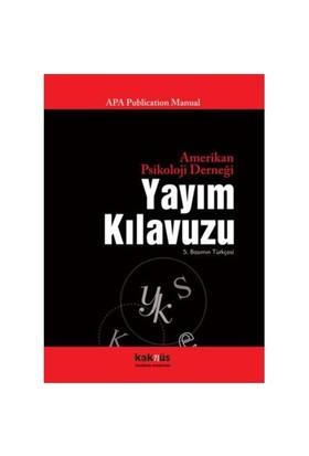 Amerikan Psikoloji Derneği Yayım Kılavuzu