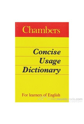 Chambers Concise Usage Dictionary-Kolektif