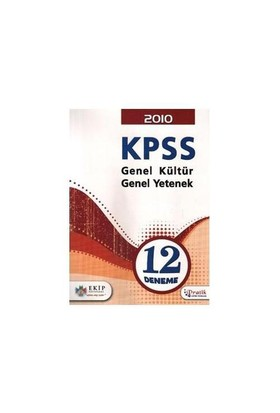 Ekip KPSS Genel Kültür - Genel Yetenek 12 Deneme