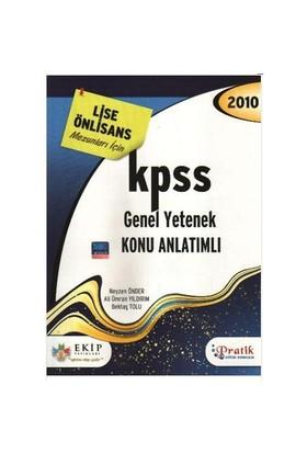 Ekip Kpss Genel Yetenek Konu Anlatımlı (Lise - Önlisans)