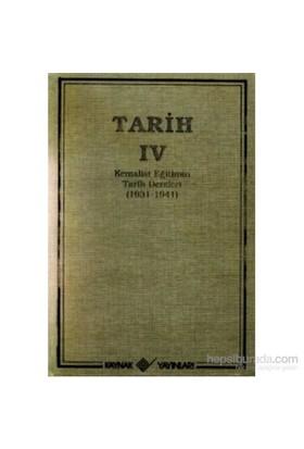 Tarih 4 Kemalist Eğitimin Tarih Dersleri 1931-1941-T. T. T. Cemiyeti