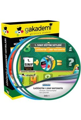 Görüntülü Akademi İlköğretim 1. Sınıf Tüm Dersler Görüntülü Eğitim Seti (10 Dvd)