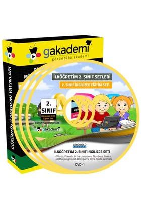 Görüntülü Akademi İlköğretim 2. Sınıf İngilizce Görüntülü Eğitim Seti (1 Dvd)