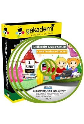 İlköğretim 3. Sınıf İngilizce Görüntülü Eğitim Seti (2 Dvd)