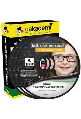 Görüntülü Akademi 6. Sınıf Matematik Görüntülü Eğitim Seti (5 Dvd)