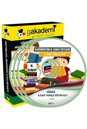 Görüntülü Akademi 6. Sınıf Türkçe Görüntülü Eğitim Seti (12 Dvd)