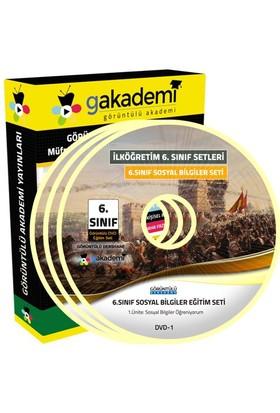 Görüntülü Akademi 6. Sınıf Sosyal Bilgiler Görüntülü Eğitim Seti (7 Dvd)