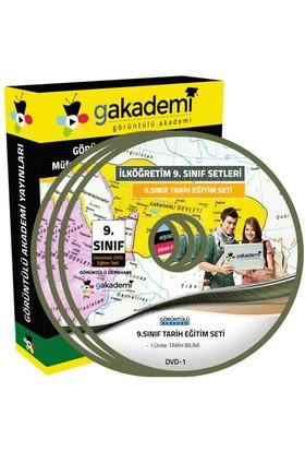 Görüntülü Akademi 9. Sınıf Tarih Görüntülü Eğitim Seti (7 Dvd)