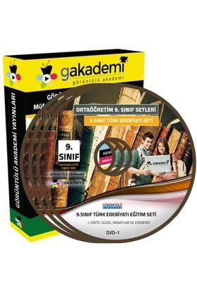 Görüntülü Akademi 9. Sınıf Türk Edebiyatı Görüntülü Eğitim Seti (4 Dvd)