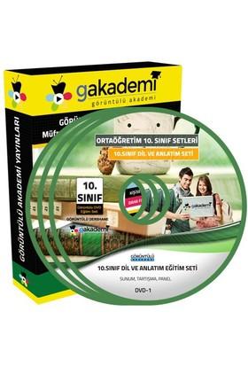 Görüntülü Akademi 10. Sınıf Dil Ve Anlatım Görüntülü Eğitim Seti (8 Dvd)