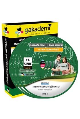 Görüntülü Akademi 11. Sınıf Geometri Görüntülü Eğitim Seti 5 Dvd