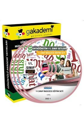 Görüntülü Akademi 11. Sınıf İngilizce Görüntülü Eğitim Seti 12 Dvd