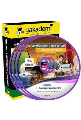 Görüntülü Akademi 11. Sınıf Kimya Görüntülü Eğitim Seti 6 Dvd