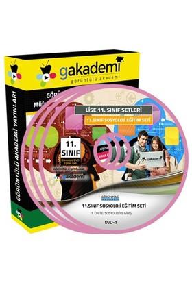 Görüntülü Akademi 11. Sınıf Sosyoloji Görüntülü Eğitim Seti 6 Dvd