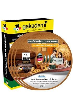 Görüntülü Akademi 11. Sınıf Türk Edebiyatı Görüntülü Eğitim Seti 6 Dvd
